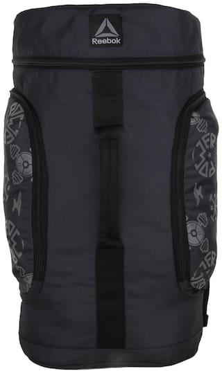 Reebok Grey Waterproof Polyester Backpack