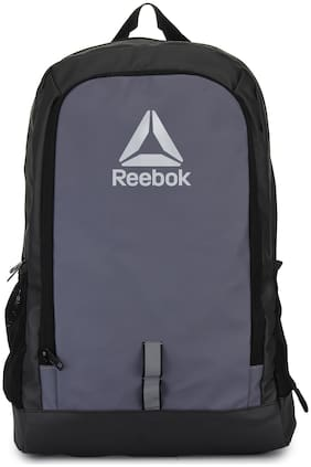 Reebok Grey Polyester Backpack