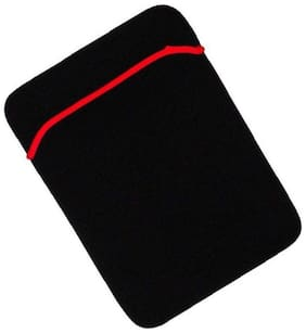Reversible Black & Red Durable Neoprene Fit Laptop Sleeve for 14.0 Micromax Laptop (Black,Red).