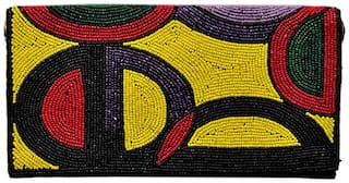 Rezzy Handicraft Women Women Multi Color Clutch