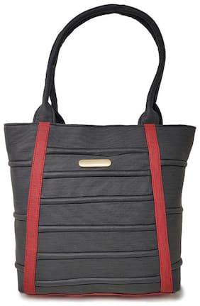 Rish Black PU Shoulder Bag