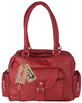 9c02c13f5310 Ritupal Collection Womens Handbag PU (Maroon flap)