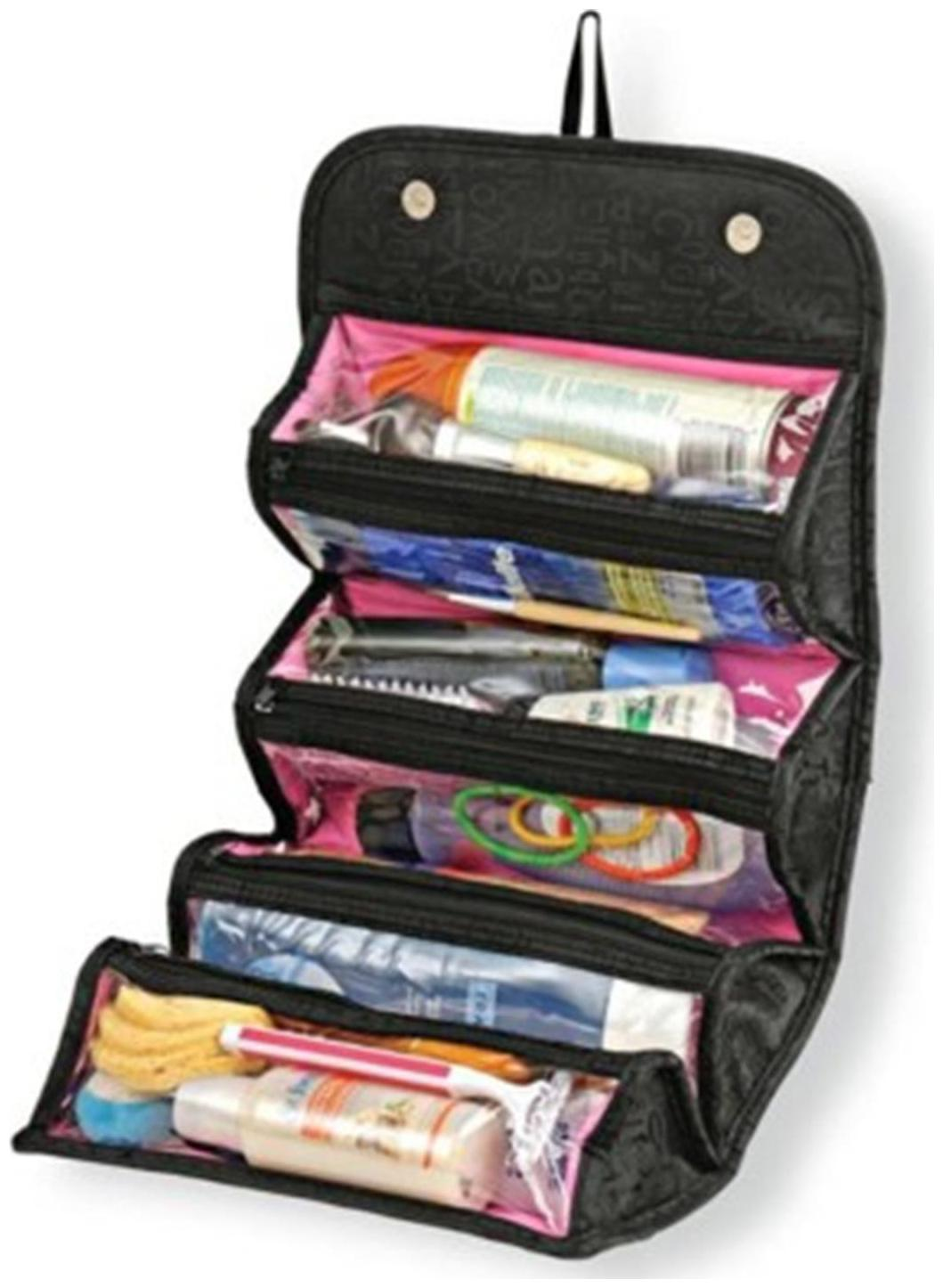 Roll N Go Cosmetic Organiser Travel Toiletry Kit by Kudos Enterprise