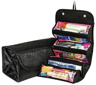 Roll N Go Travel Buddy Toiletry Bag / Bag Organizer Travel Toiletry Kit (Assorted Color) Pack of 1