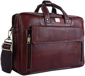 Rome Hunters Genuine Leather Premium Laptop Bag