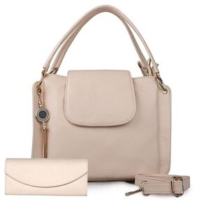 ROSEBERRY Women Solid Pu - Sling Bag Beige