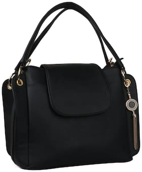 ROSEBERRY Women Solid PU - Sling Bag Black