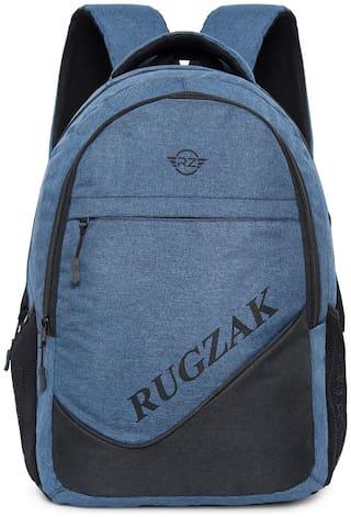 rug-zak Waterproof laptop backpack for boys and girls RG-20211 Medium (18-19 inches) Waterproof Laptop Backpack - Blue