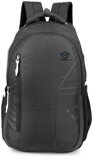 rug-zak Small (Upto 17 inches) Waterproof Laptop Backpack - Black