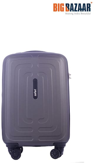 0f7f460df2 Buy Safari Amaze PC 55 cm Hard Trolley (Grey) Online at Low Prices ...