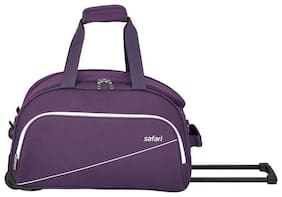 Safari Cabin Size Hard Luggage Bag ( Black , 2 Wheels )