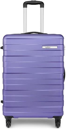 Safari Dorado Cabin Size Hard Luggage Bag ( Purple , 4 Wheels )