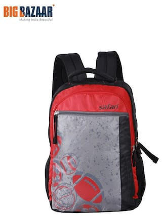 3ca4a0368 Buy Safari Black Waterproof Polyester Backpack Online at Low Prices ...