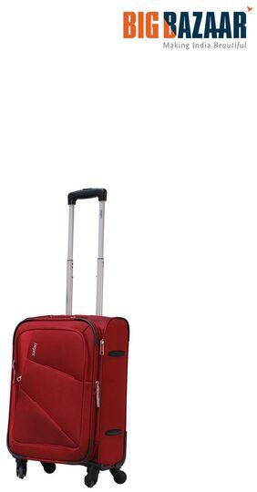 Safari Glide Spinner Soft Trolley 59 cm Red