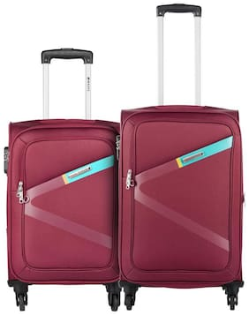 Safari Greater-4wh-Red-S&M (Combo Set Of 2)