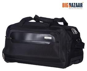 Safari Polyester Men Duffle bag - Black