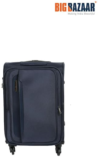 Safari Parker 55 cm Soft Trolley (Blue)