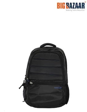 Safari 22 ltr Black Polyester Laptop backpack