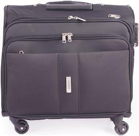 Safari Vectore Cabin Size Overnighters Bag ( Black , 4 Wheels )