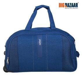 Safari Polyester Men Rucksack - Blue