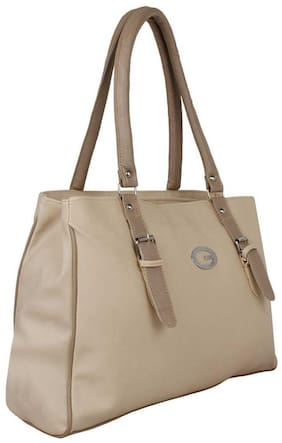 SaleBox Beige PU Handheld Bag