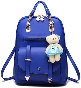 SaleBox Blue Leather Backpack