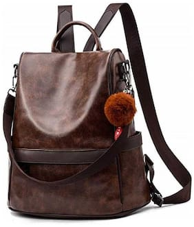 SaleBox Brown Leather Backpack