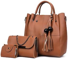 Regular Shoulder Bag ( Tan )