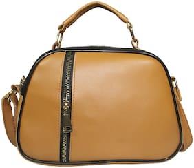 Small Sling Bag ( Tan )