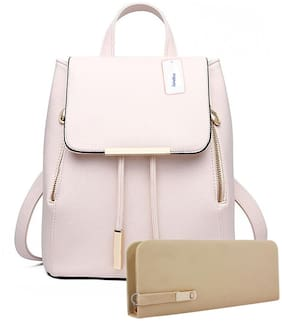SaleBox Pink Leather Backpack