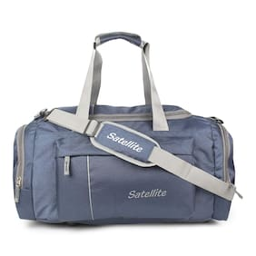 SATELLITE Polyester Men Gym bag - Blue