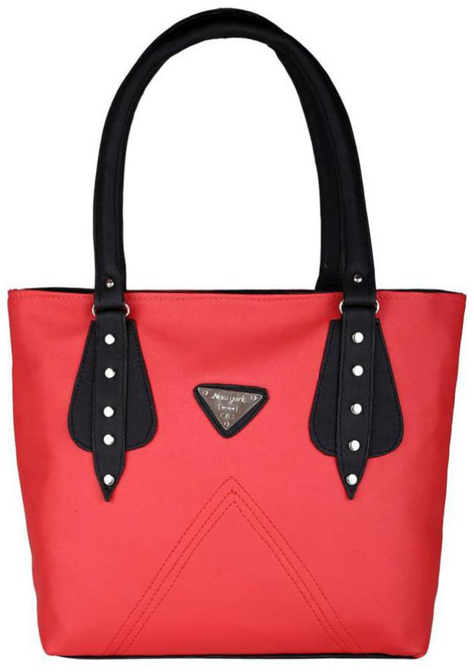 SBS Bags Red PU Shoulder Bag
