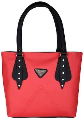 SBS Bags Red PU Shoulder Bag
