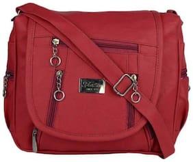 Sling Bag ( Maroon )