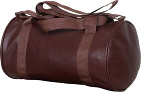 Sector Z Faux Leather Gym Bag