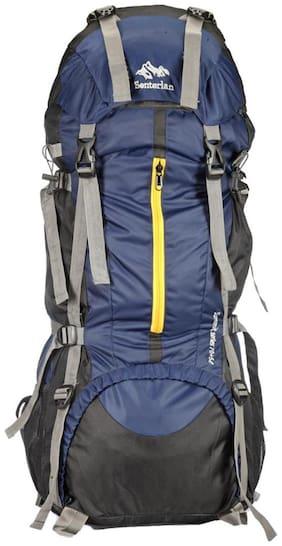 senterlan navy blue hiking rucksack
