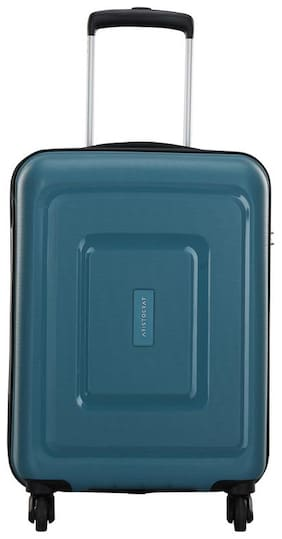 ARISTOCRAT Sera Small Size Hard Luggage Bag ( Blue , 4 Wheels )