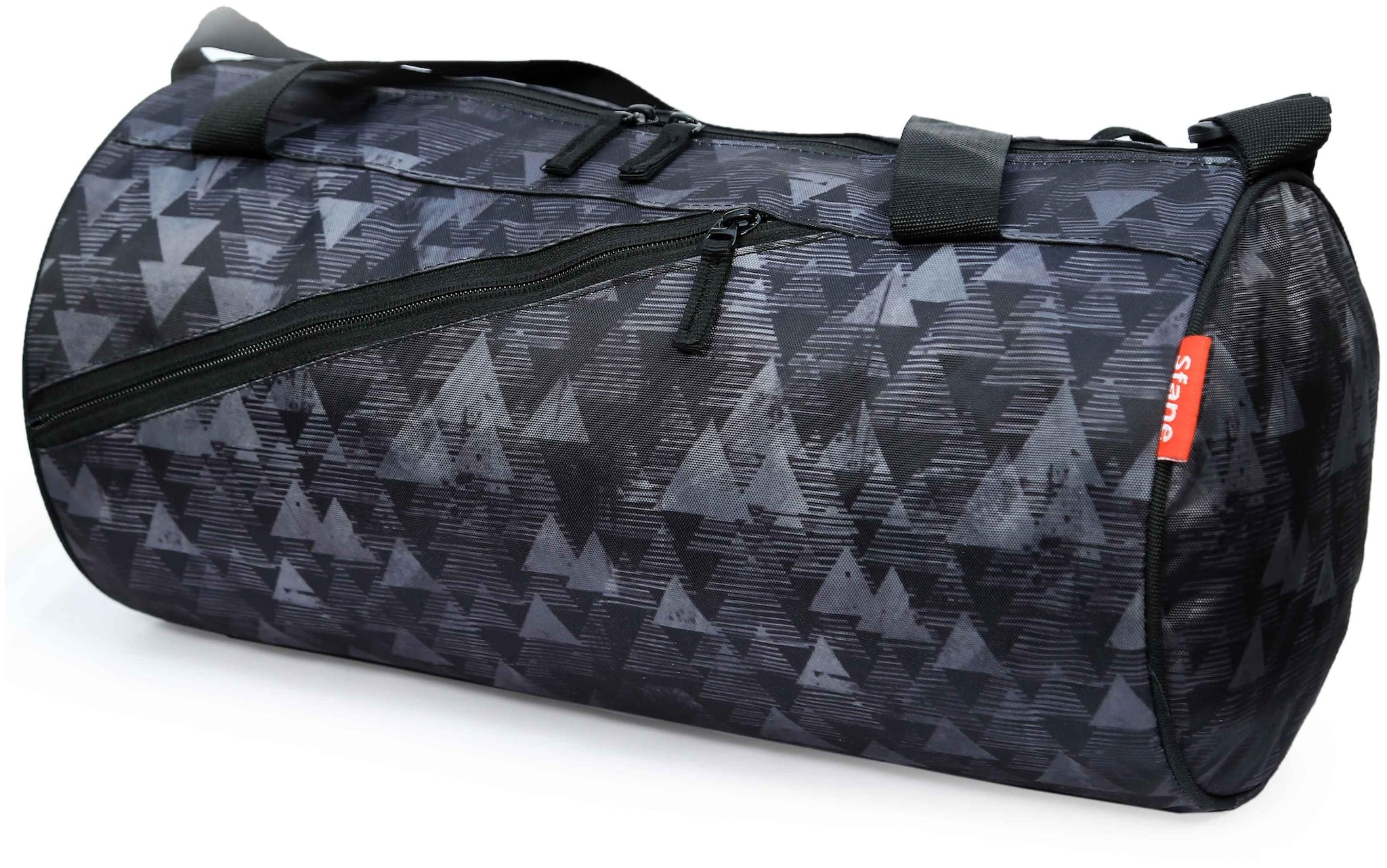 c9db1660c3 Buy SFANE Polyester Men Gym Bag   Duffle Bag - Grey   Black Online at Low  Prices in India - Paytmmall.com