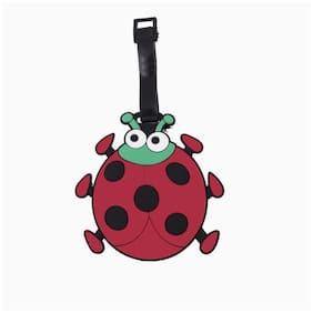 SG Red & Black Ladybug Luggage Tag