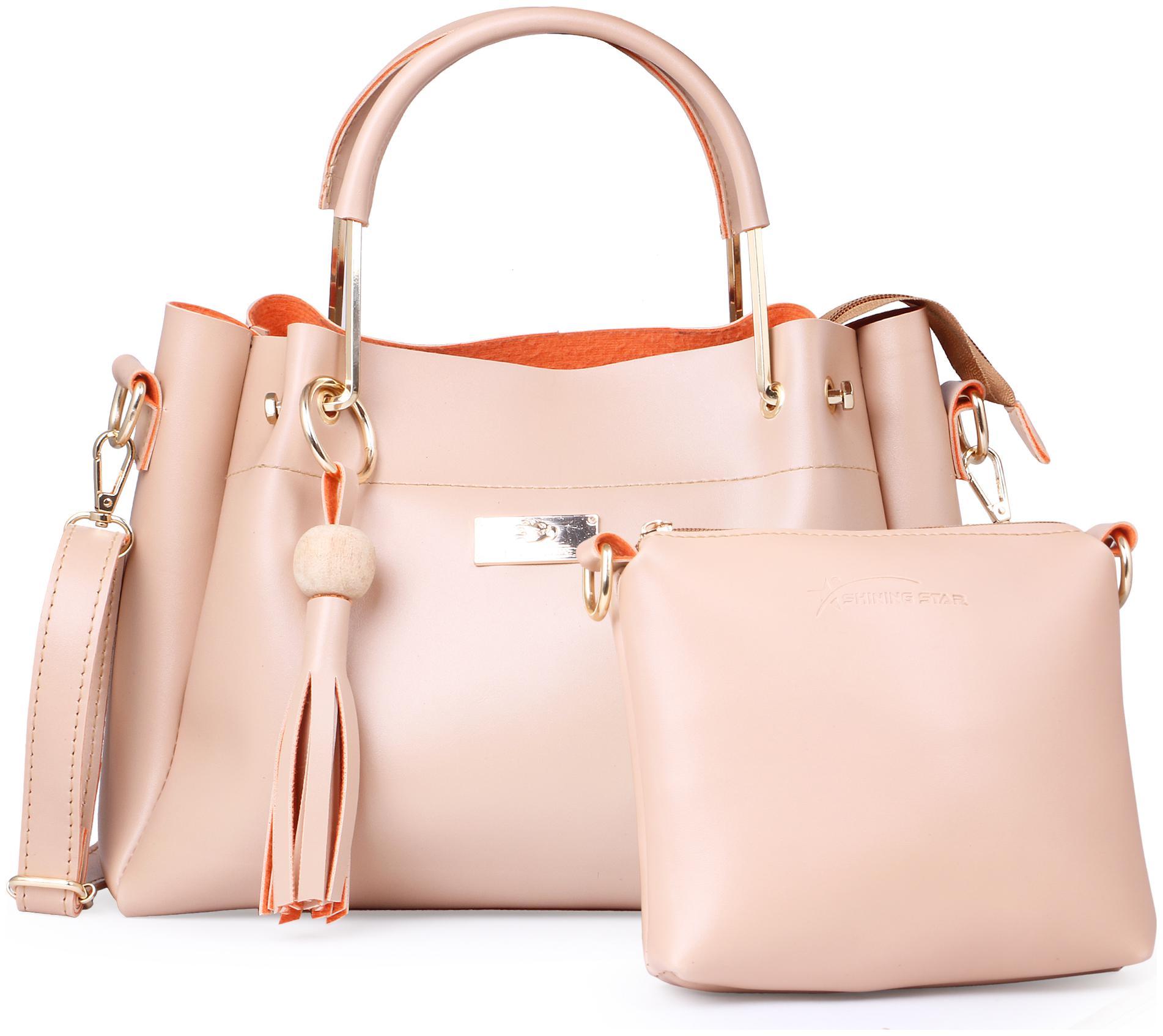 NEW  WOMEN PURSES LADIES HAND BAGS CLASSIC GIRLS CANVAS STAR PRINT CLUTCH BAG