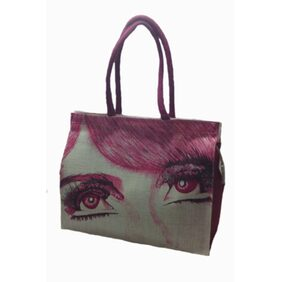 Shop & Shoppee Women Solid Fabric - Tote Bag Pink