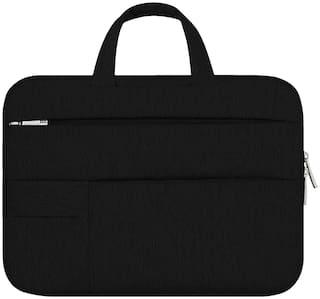 Shopizone 4 kg Black Canvas Laptop sleeve