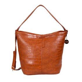 Lino Perros Women Faux Leather Handheld Bag - Blue