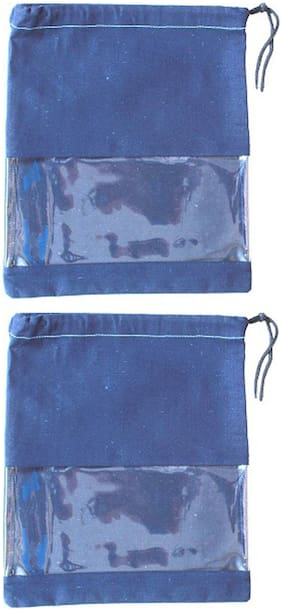 Travel Pouch ( Blue )
