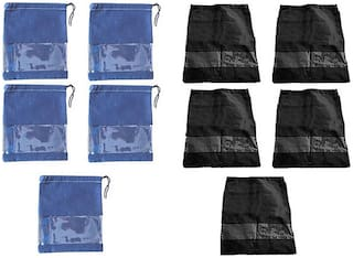 Shree Jee Travelling Shoe Pouch(Pack Of 10))