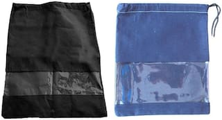 Shree Jee Travelling Shoe Pouch(Pack Of 2))