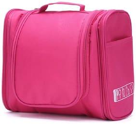 SHREE SHYAM PRODUCTS Women Nylon Vanity Case - Pink