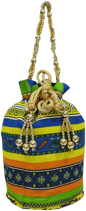SHREE SHYAM PRODUCTS Multi Cotton Potli Bag