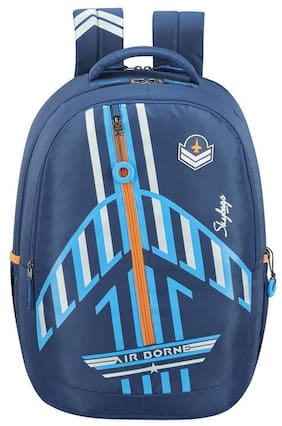 Skybags ASTRO AIRPLANE THEME BLUE SCHOOL BACKPACK 32L Backpack