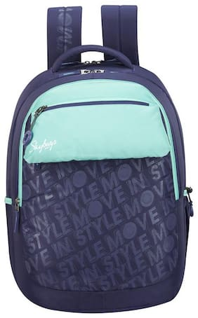 Skybags ASTRO DOUBLE POCKET PURPLE SCHOOL BACKPACK 32L Backpack